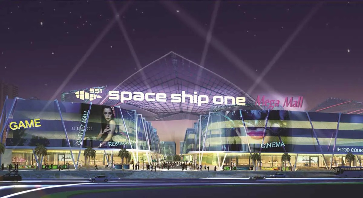 Read more about the article Diyas SS1 Space Ship One